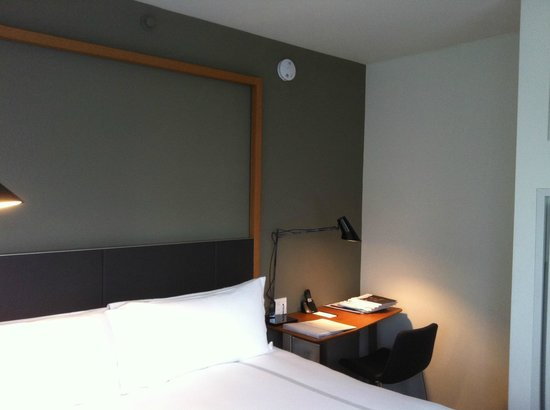 The Standard, East Village:                   king bed in bedroom, neutral colour scheme