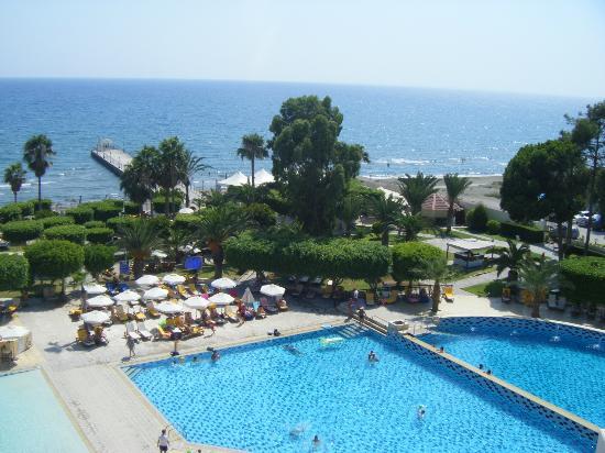 Elias Beach Hotel: vue chambre coté mer