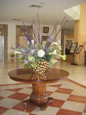 Elias Beach Hotel: accueil hotel