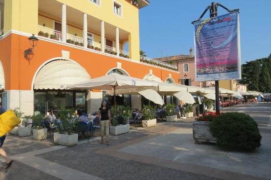 Hotel Vela d'Oro: hotel restaurant