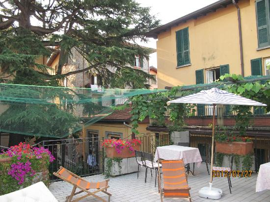 Hotel Centrale: roof terrace