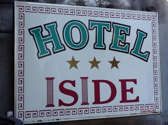 hotel Iside, easy to find and a good base.