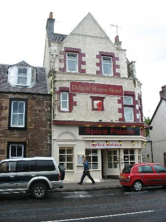 Dalgair House Hotel from main road