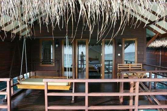 Filitheyo Island Resort: Water Villa from balcony