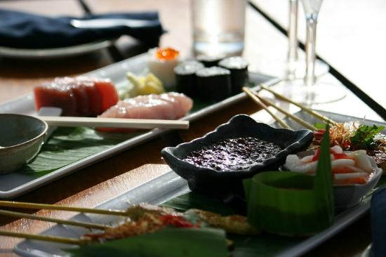 Filitheyo Island Resort: Sushi lunch