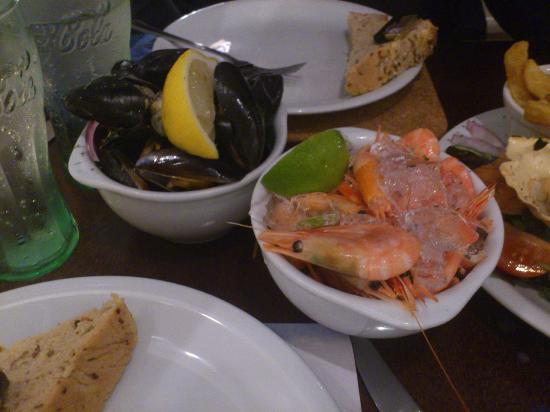 The London Inn: Seafood Platter