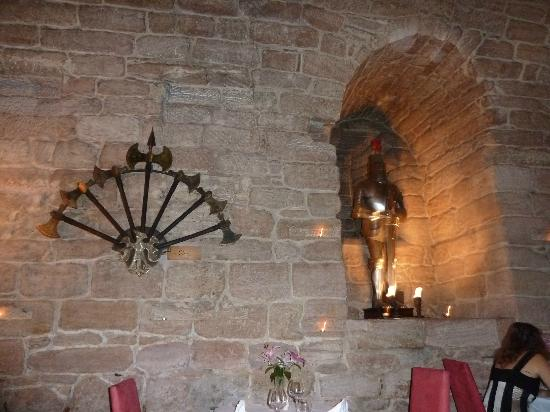 Dalhousie Castle: resto