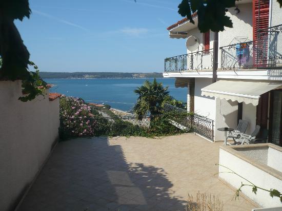 Villa Bellevue : Sea view from terrace