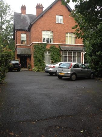 Old Rectory - carpark