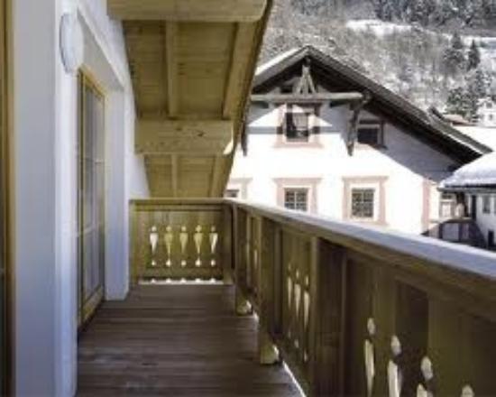 Appartements Ferienwohnungen Pfausler : unser Balkon