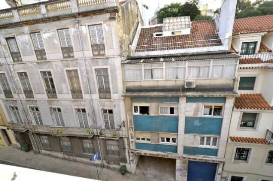 Hotel Principe Real: Le quartier n'est pas très frais... Comme cet hôtel