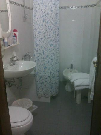 Ariele Hotel: baño