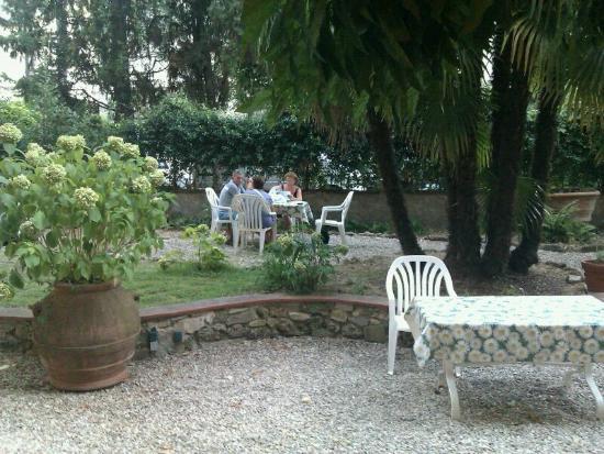 Ariele Hotel: jardin