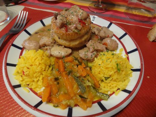 Erreguina Hotel-Restaurant : Un plat