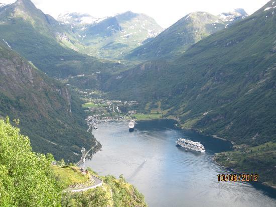 Hotel Geiranger: Geirangerfjord