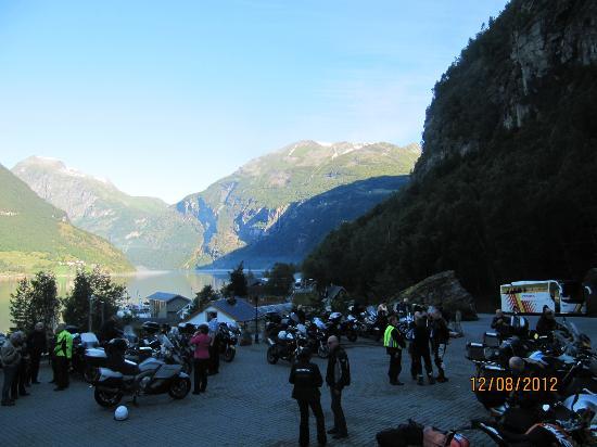 هوتل جيرانه: geirangerfjord