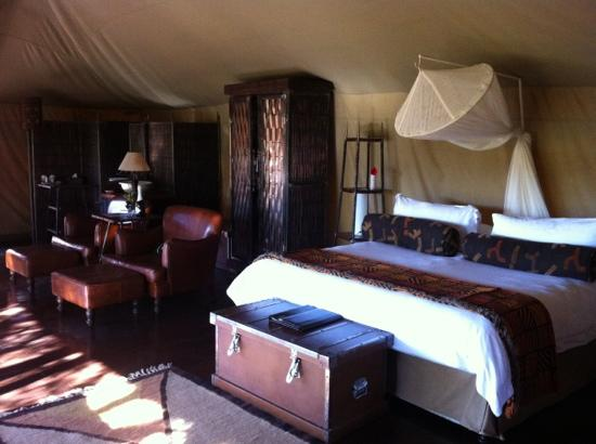 Shishangeni Private Lodge: Camp Shonga room