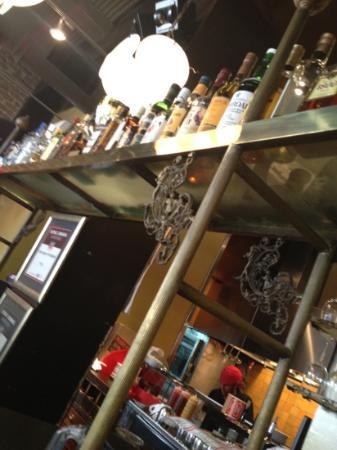 Agadir Burger: alchool bar