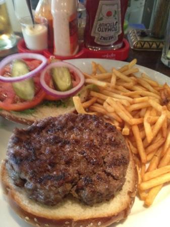 Agadir Burger: angus hamburger