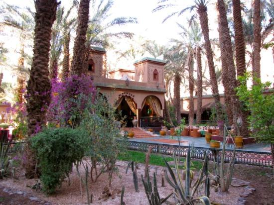 Palais Asmaa: garden
