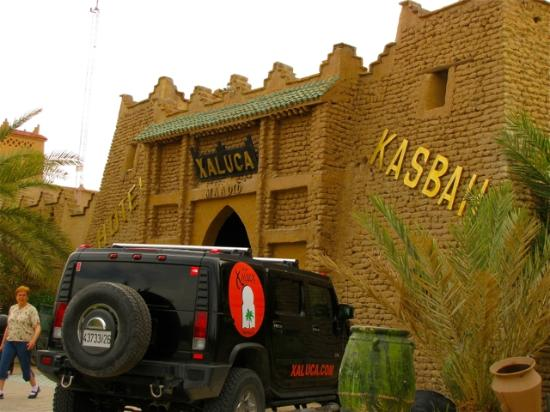 Kasbah Hotel Xaluca Arfoud: the entrance