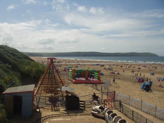 Woolacombe Sands Holiday Park: The Beach at Woolacombe