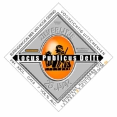 Locus Publicus Delft: 25th jubilee beer Locus Publicus