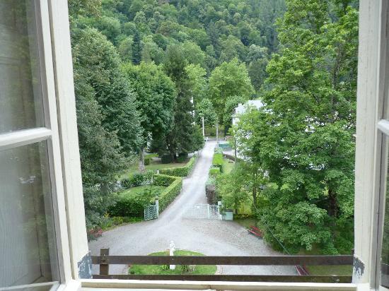 Hotel Castel de la Pique: vue de la fenetre