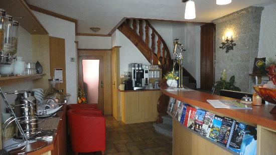 Pension Wolfgangsee : reception