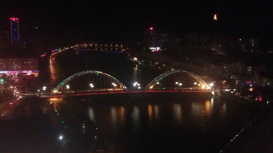 Yintian Hotel: LiuYang River - Night