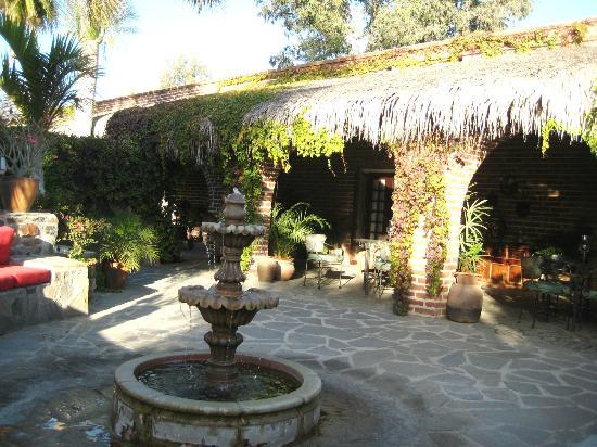 Todos Santos Inn : Inner courtyard