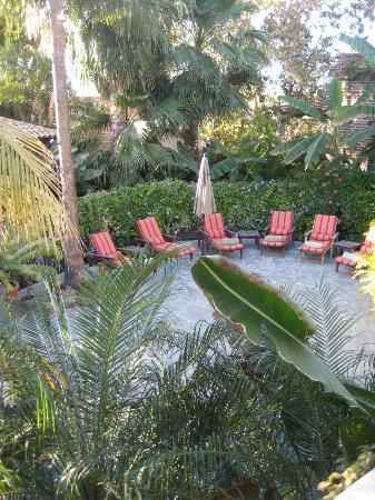 Todos Santos Inn: Inner courtyard