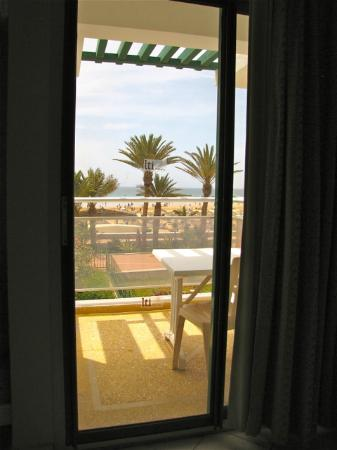 lti Agadir Beach Club: view from our room