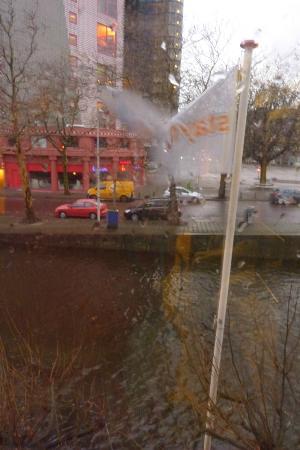 Stayokay Den Haag: Vistas desde la habitación