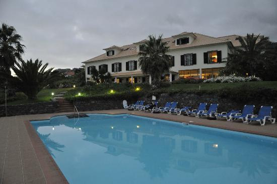 Quinta Alegre: Hotel vom Pool aus