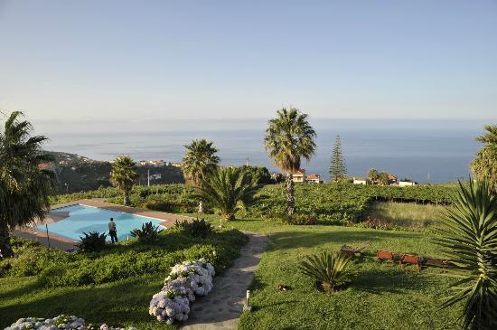 Quinta Alegre: Garten mit Blick auf den Pool