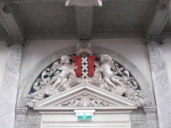 Westerkerk: Entrance below the organ