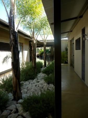 The Elegant Guesthouse: The lovely courtyard