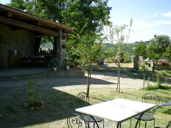 Garden House: Porzione giardino