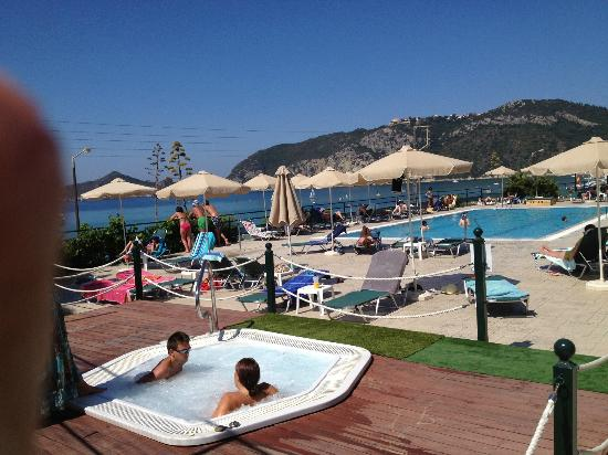 Hotel Costas Golden Beach: Pool Area of Costas Golden Beach