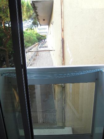 Hotel Italia: vista dalla camera