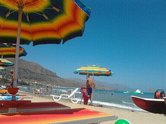 Spiaggia di Castellamare del Golfo : plaia Castellammare del golfo