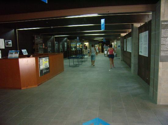 Hotel Leon: Hallen ved indgang til Balneario