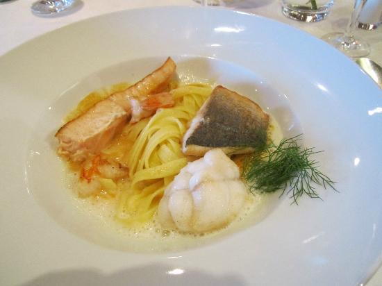 Hotel-Restaurant Kunz: example of a plate