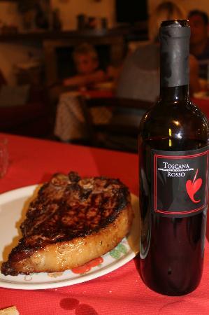 Agriturismo il Boscone: ....la fiorentina....