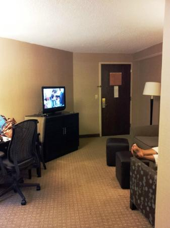 Embassy Suites by Hilton Raleigh - Crabtree : great room