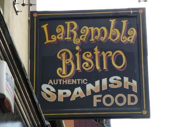 La Rambla: Sign