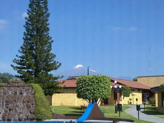 Villas Layfer : Vista desde la alberca