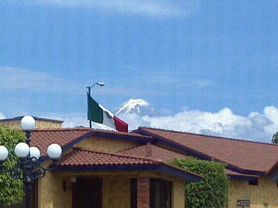 Villas Layfer : Vista del volc?n