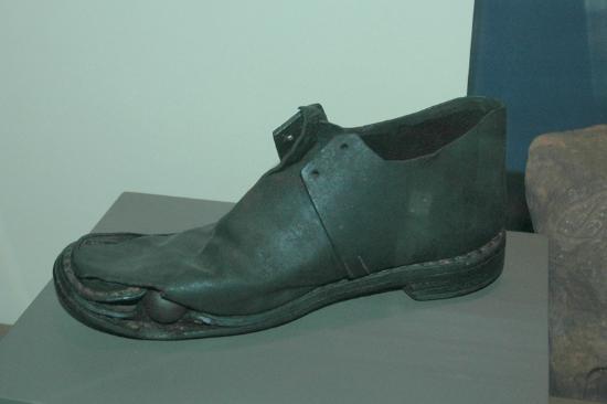 Manassas, VA: Projectile in Shoe